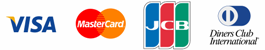 ��������� Visa, Mastercard, JCB, Diners Club International
